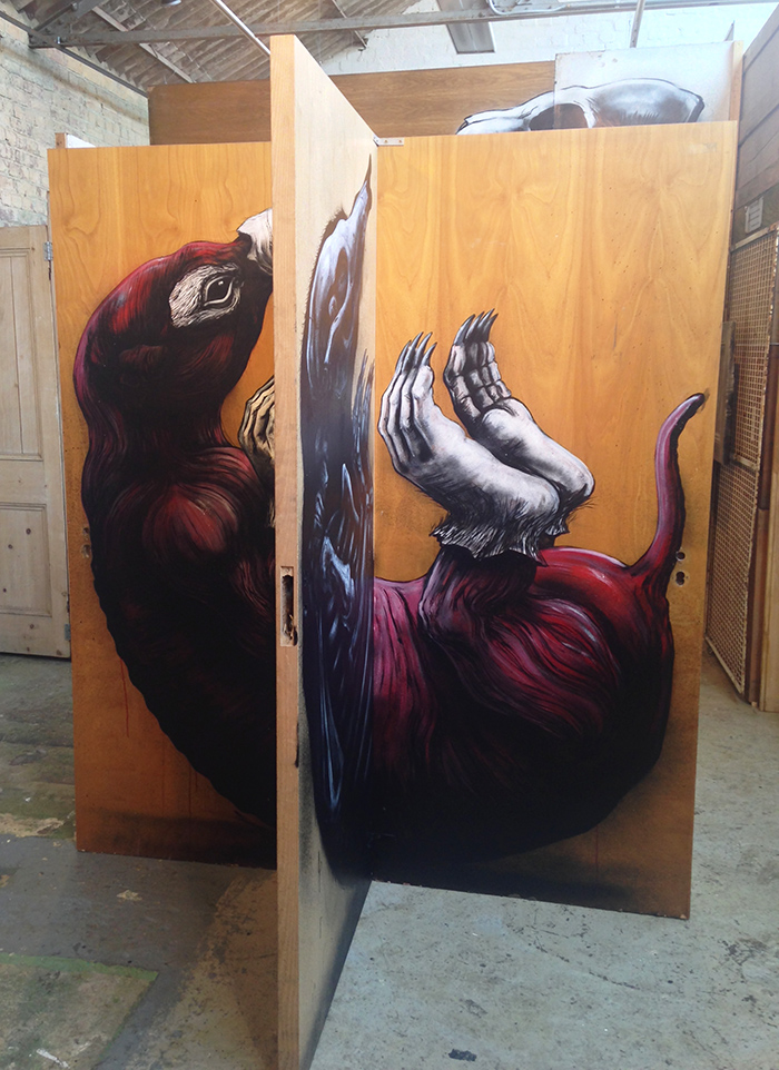 ROA at stolenspace gallery